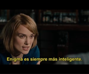 film, the imitation game, and keira knightly image