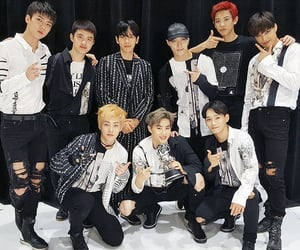 exo, txt, and bts image