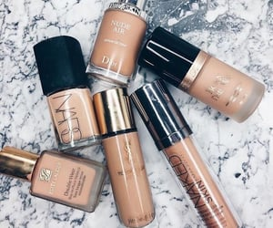 beauty, beige, and cosmetic image