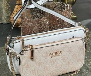 bag, fashion, and guess image