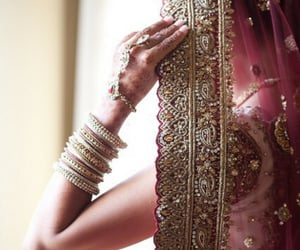 bride, beauty, and dress image