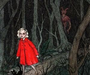 black cat, Devil, and sabrina spellman image
