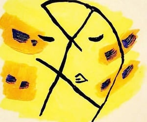 art, yellow, and jolene image