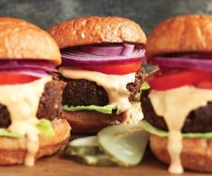 burger, burgers, and cheeseburger image
