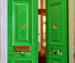design, doors, and painted image