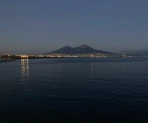mare, napoli, and sea image