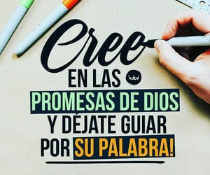 fe, promesas, and dios image