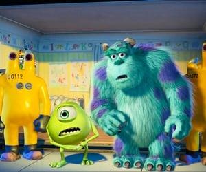 disney, monsters inc, and pixar image