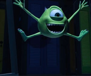 pixar, disney, and monsters inc image