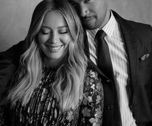Hilary Duff, younger, and charles michael davis image