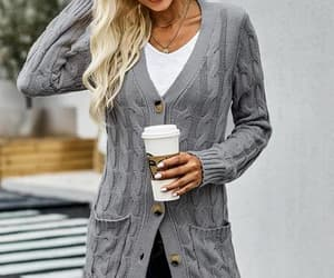 clothing, cardigan, and outerwear image