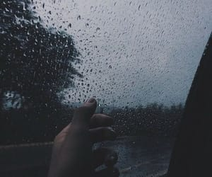 rain, sad, and tumblr image