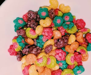 cereal, colorful, and crunchy image
