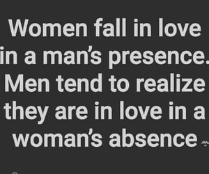 realize, absence, and lovequotes image