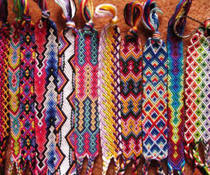 bracelet, friendship, and colorful image