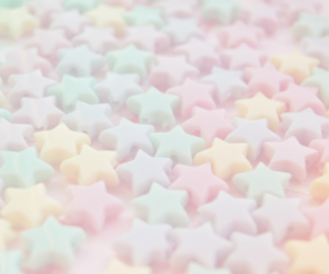 stars, pastel, and cute image