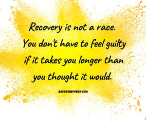 recovery and motivational image