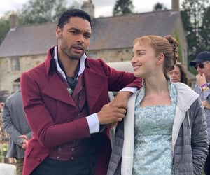 bridgerton, phoebe dynevor, and netflix image