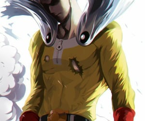 anime, anime character, and one punch man image