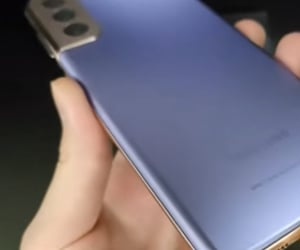 video, unboxing, and samsung s21 image