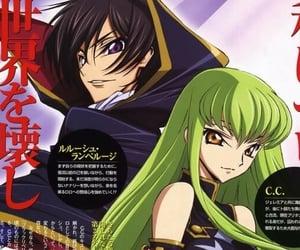 anime, cc, and code geass image