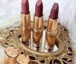 beauty, makeup, and lipstick image