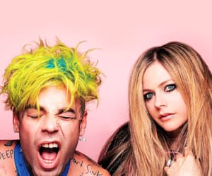 Avril Lavigne and mod sun image