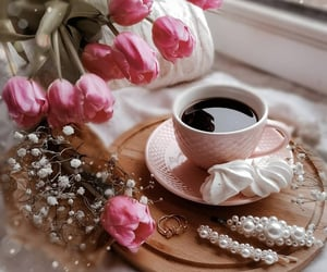 black coffee, coffee, and cup image