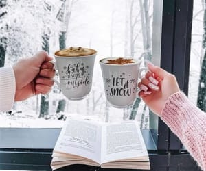 book, chill, and coffee image