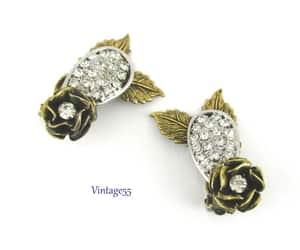 etsy, rhinestone, and boho earrings image