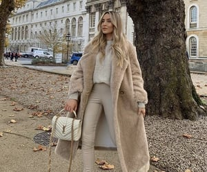 beige, boots, and fashion image