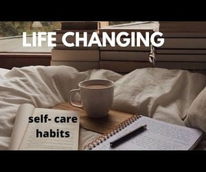 affirmation, habits, and self love image