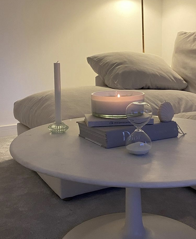 books, interior design, and living room image