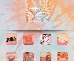 icons, iphone, and orange image