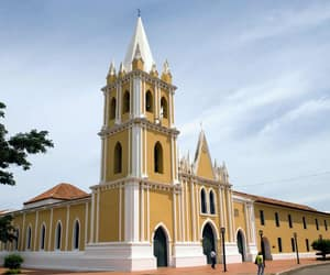 church, venezuela, and city image