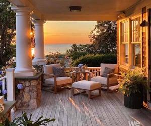 home, balcony, and house image