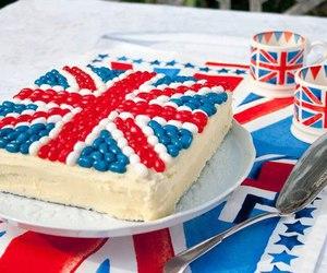 cake, london, and england image