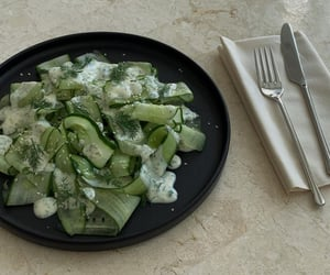 aesthetic, cucumber, and food image