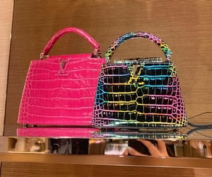 bag, chic, and colours image