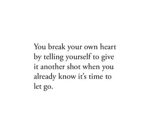 feeling, hurt, and let go image