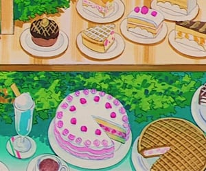 aesthetic, art, and cake image
