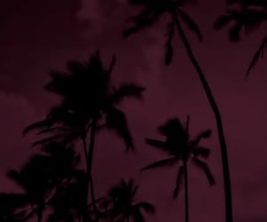 aesthetic, burgundy, and dark image