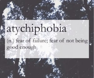 fear, failure, and atychiphobia image