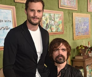 Jamie Dornan and peter dinklage image
