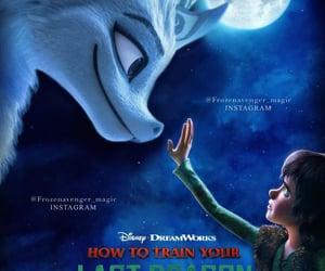 animation, disney, and hiccup image