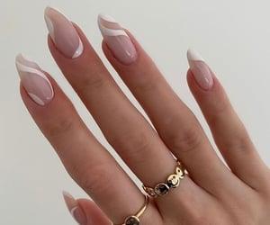 manicure, alongamento de unhas, and unhas decoradas image