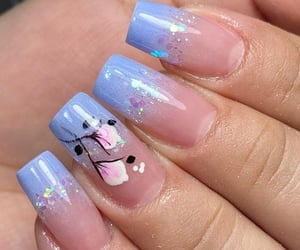 manicure, unhas, and polygel image
