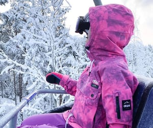 finland, girl, and purple image