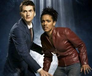 david tennant, matha jones, and doctor who image