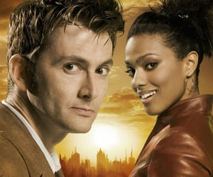 doctor who, tenth doctor, and freema agyeman image